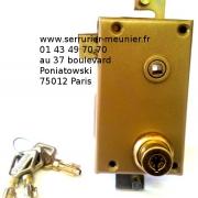 Serrure Pollux multipoints 75012