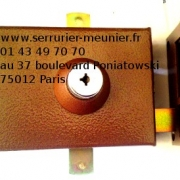 Serrure Bricard multipoints à bille